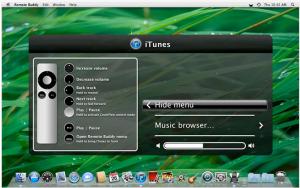 Skärmdump - Remote-Buddy