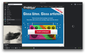 Spotify-Expressen Introquiz