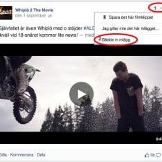 Facebook - Steg 1