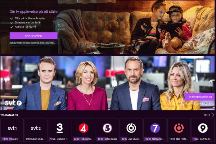 Titta på tv direkt i mobilen