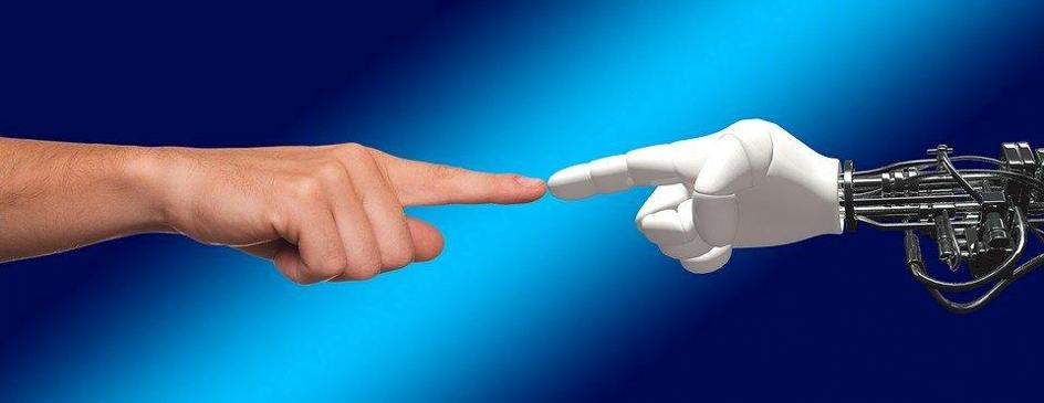 Hand, Robot, Människa, Gudomliga, Spark, Kontakt